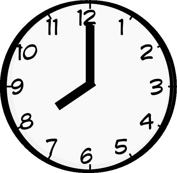 Heat clipart eight.  o clock clip