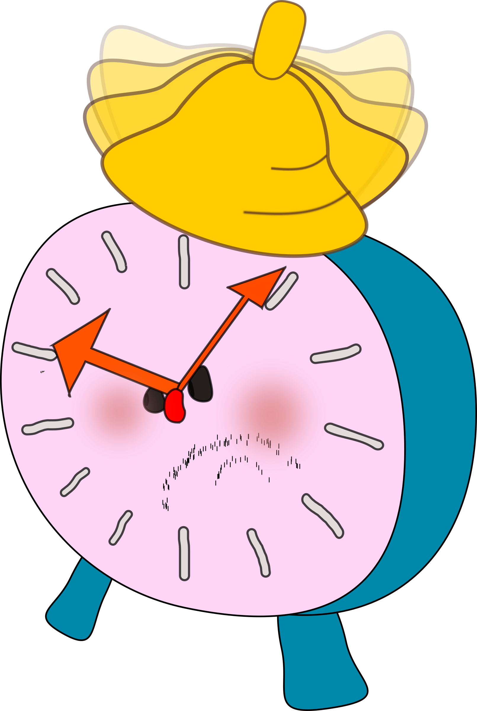 Clock clipart angry. Alarm is big image