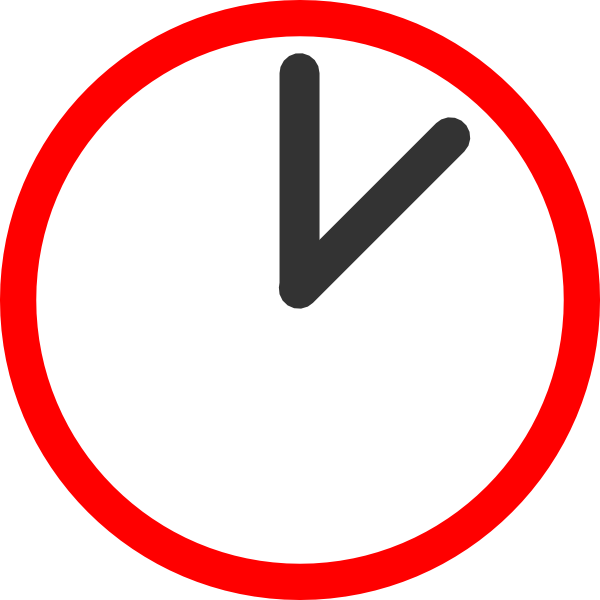 Animated clock ticking . Clocks clipart red