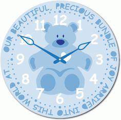 best cards boy. Clocks clipart baby