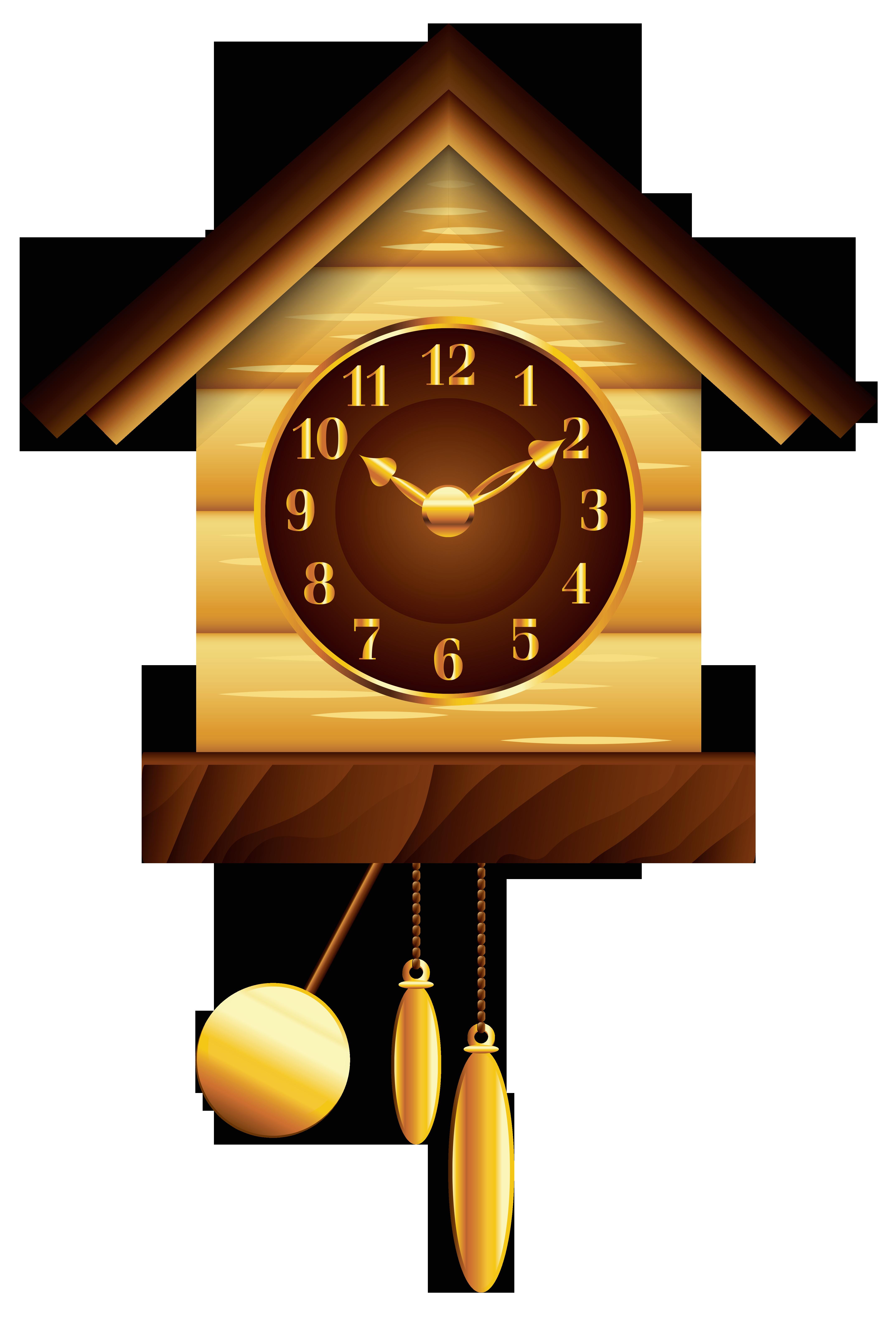 Cuckoo png clip art. Clock clipart house