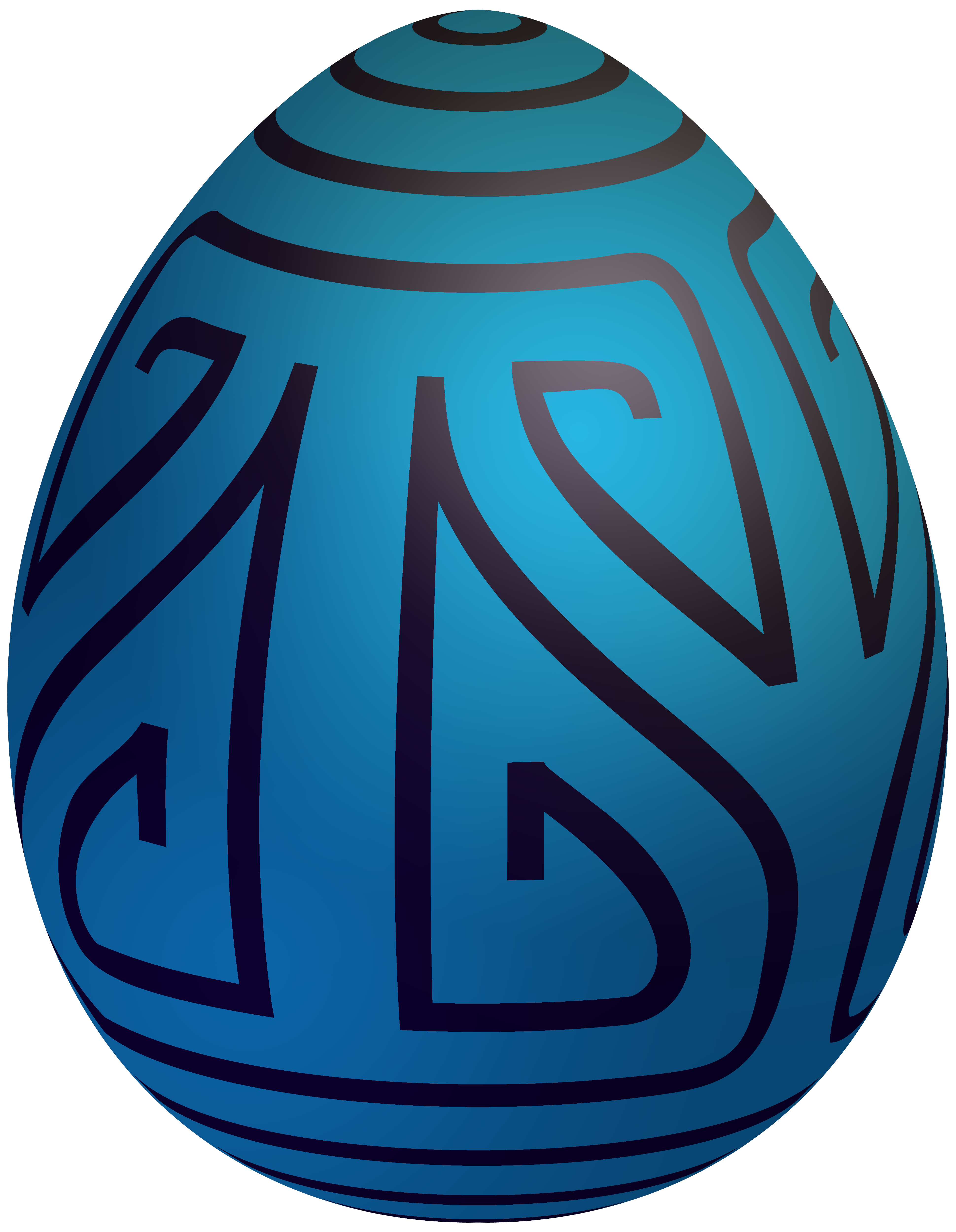 Clipart money easter. Blue decorative egg png