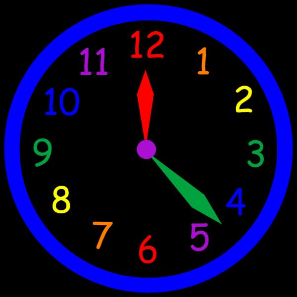 Public domain author at. Clipart clock blue