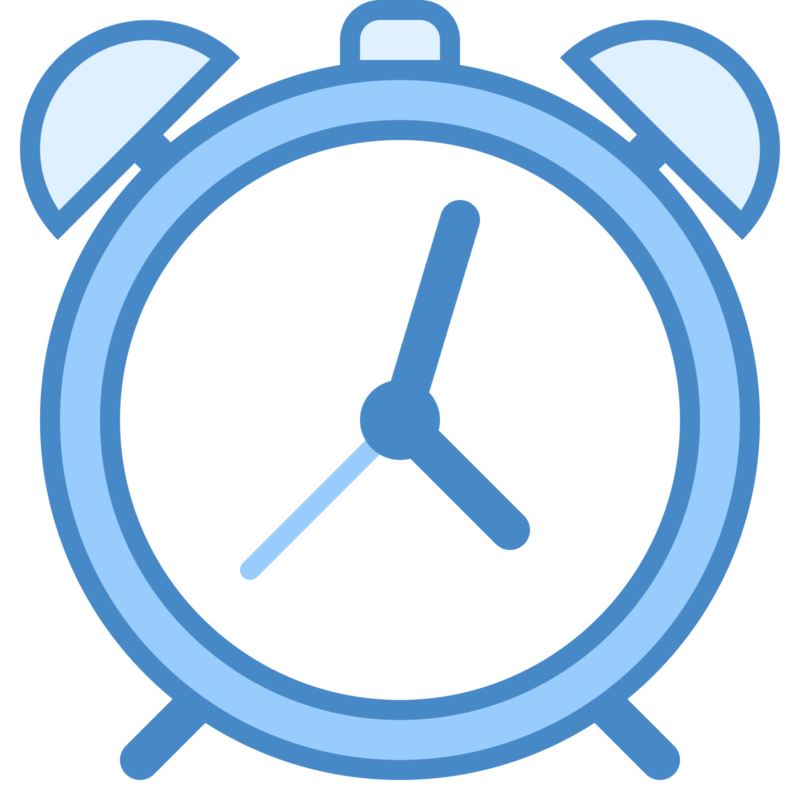 Free black and white. Clock clipart blue