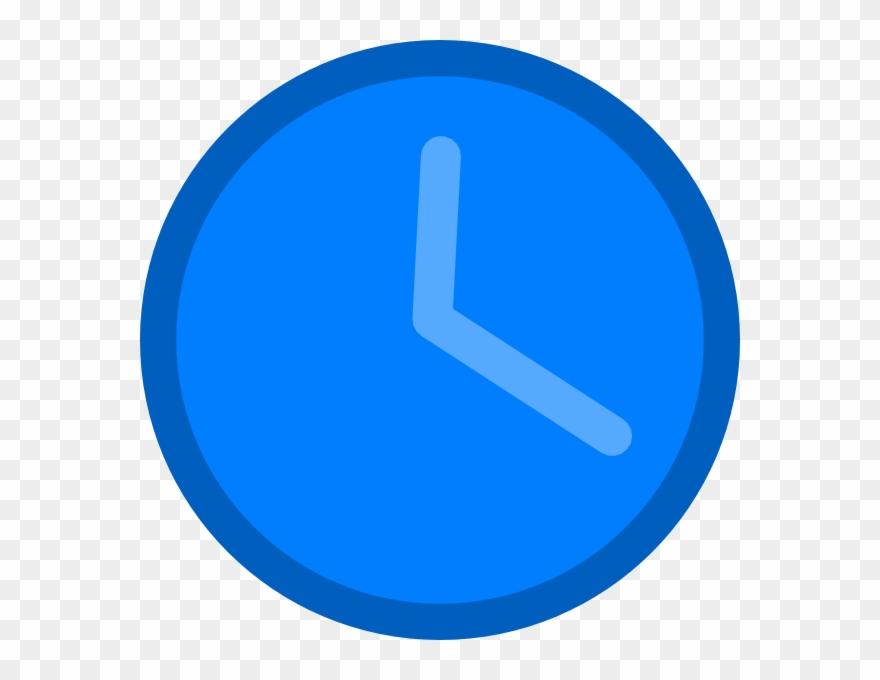 Png download pinclipart . Clipart clock blue