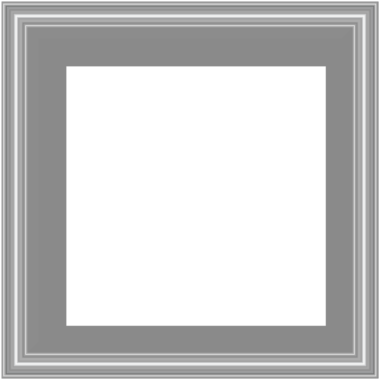 Math clipart frame. Silver border transparent png