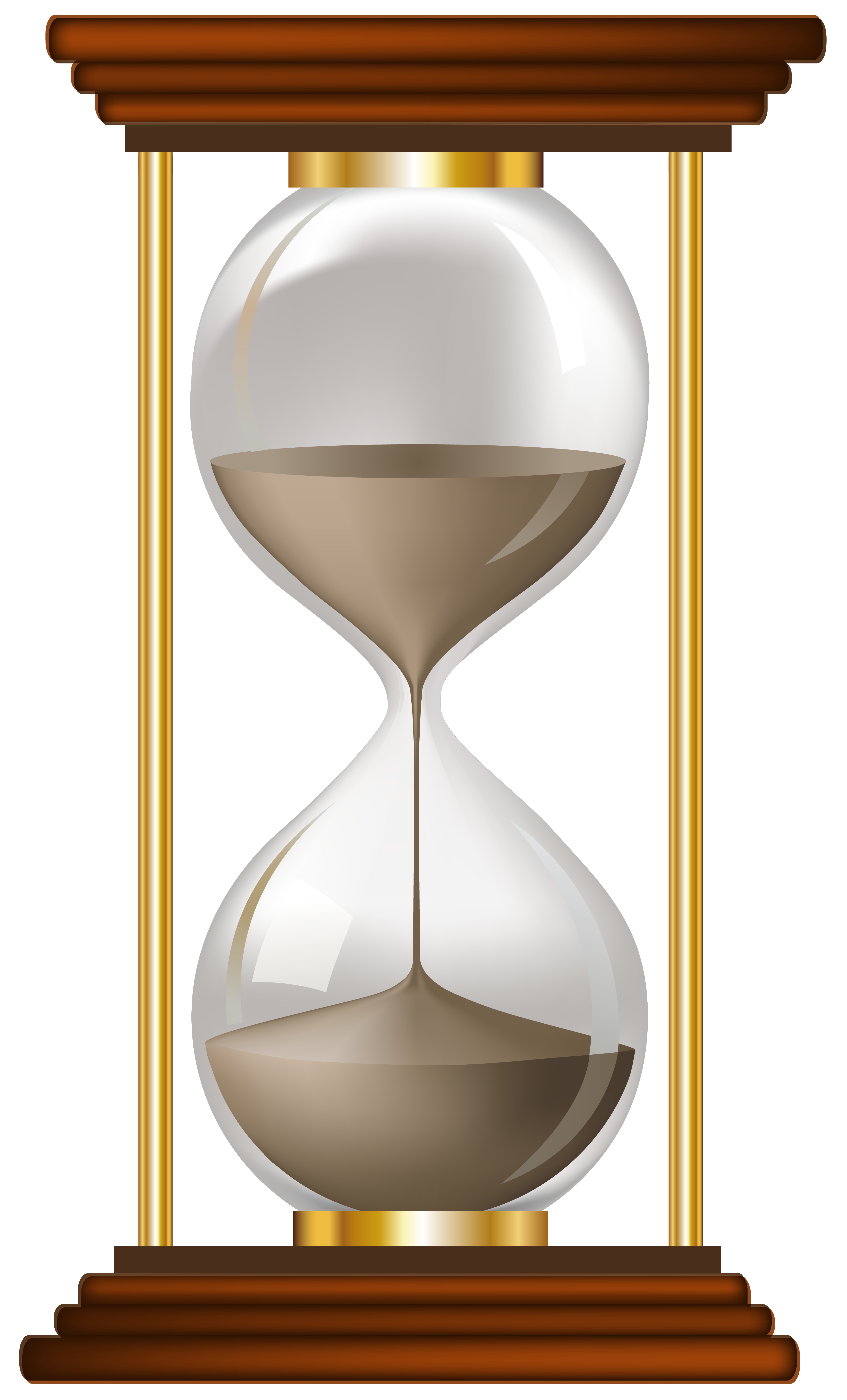 hourglass clipart fancy