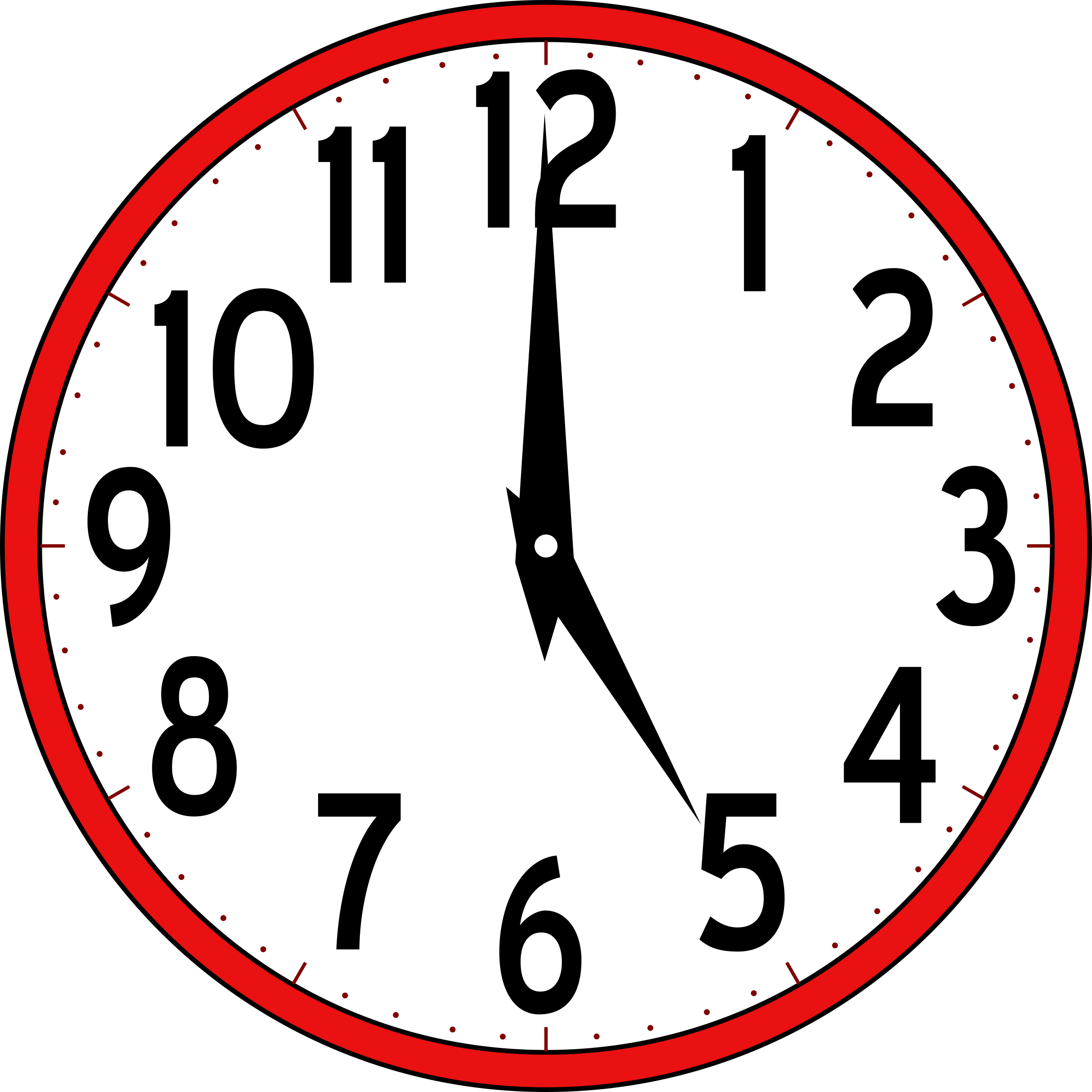 collection of clocks. Clock clipart 8pm