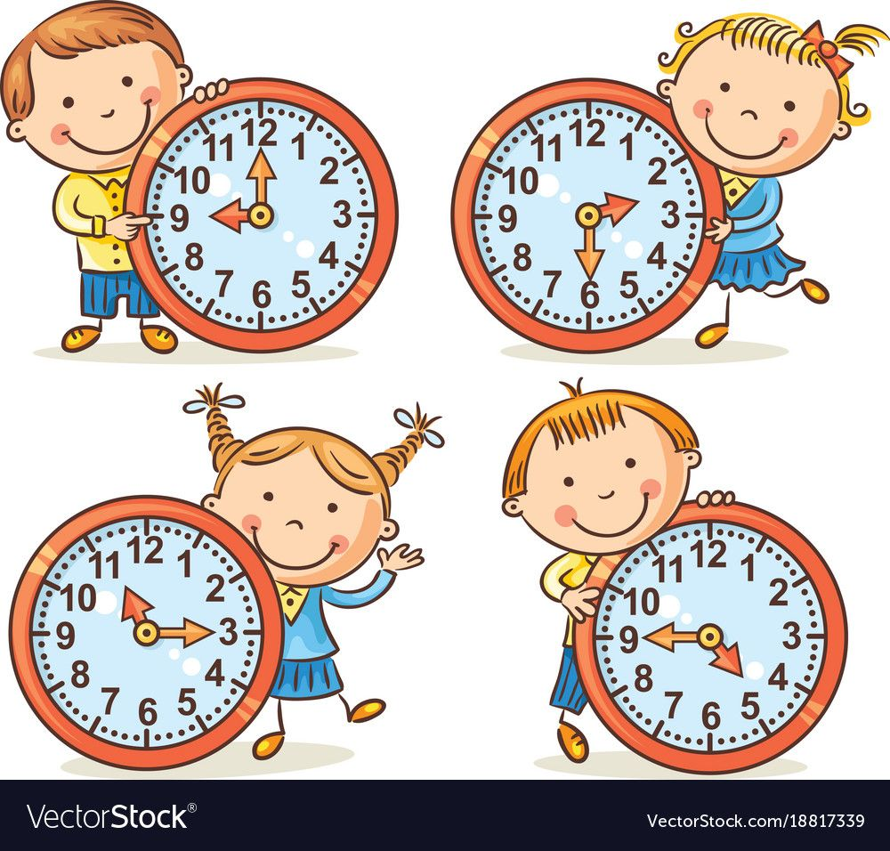Pin by slt on. Toddler clipart clock