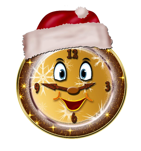 Clocks clipart christmas. Clock cliparts free download