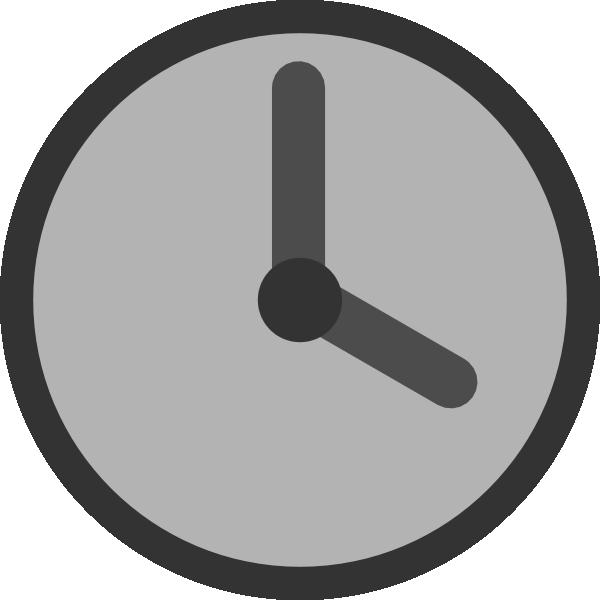 clock clipart circle