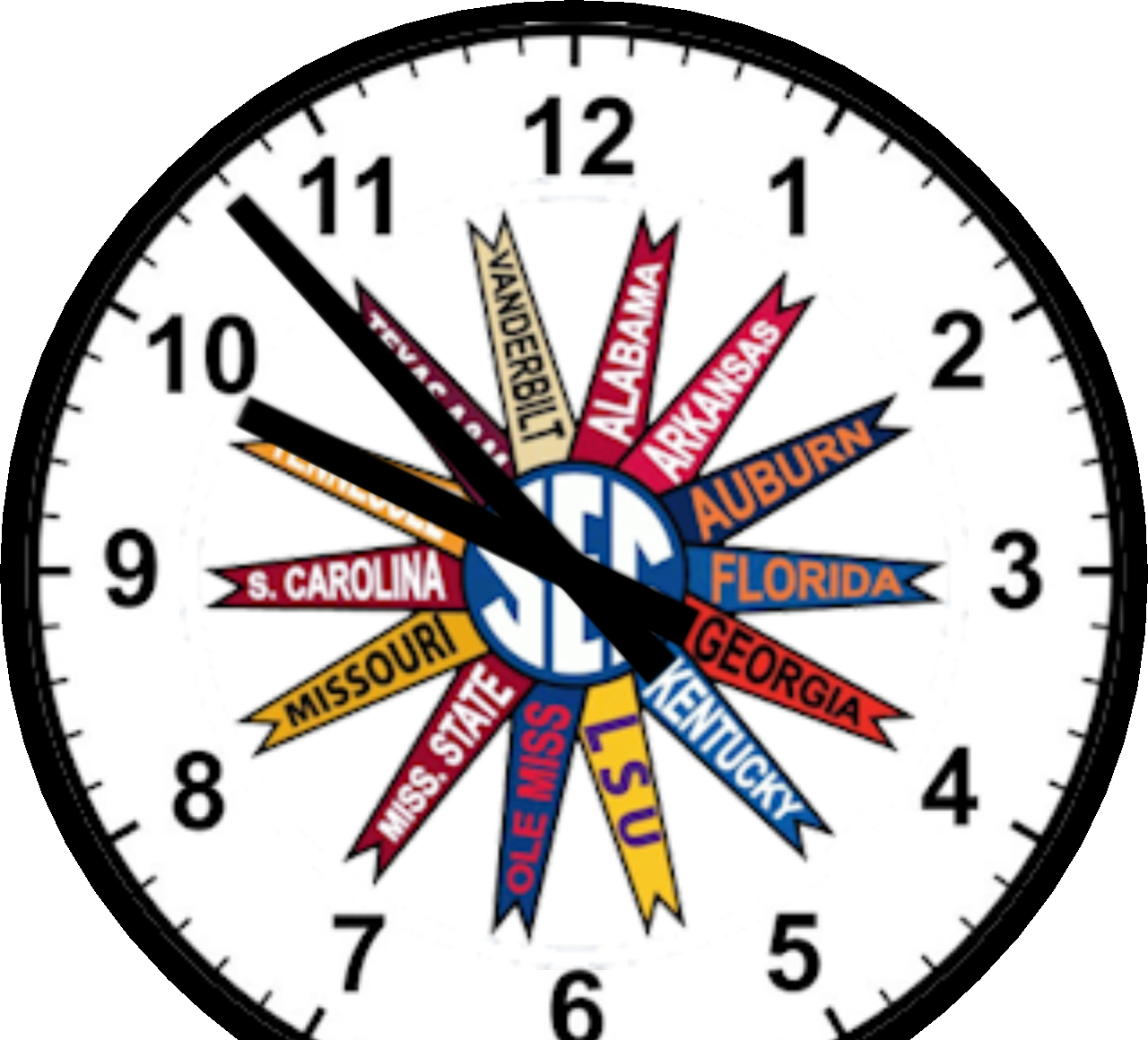 Clipart clock circle. Sec round the for