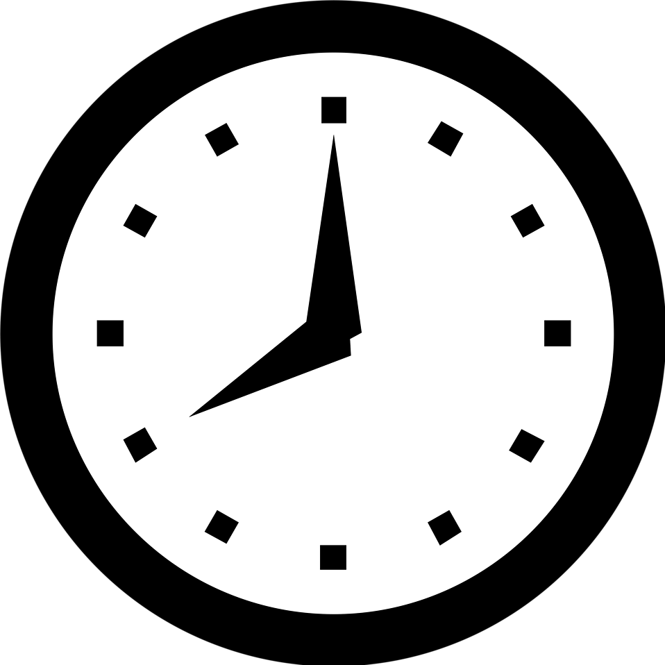 clocks clipart clear background