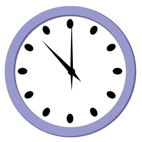 See clipart wall watch. Free clock images download
