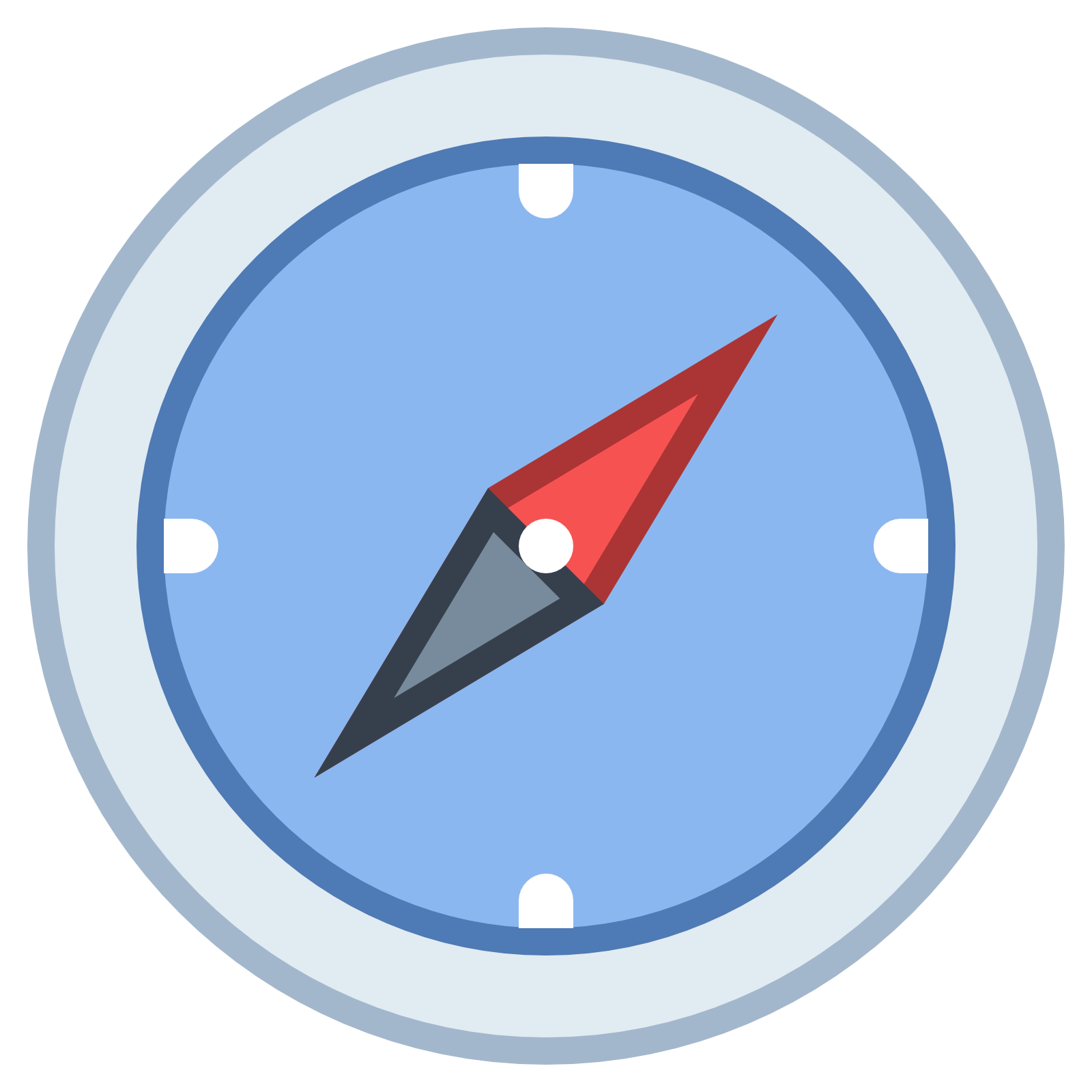 North computer icons google. Compass clipart black and white