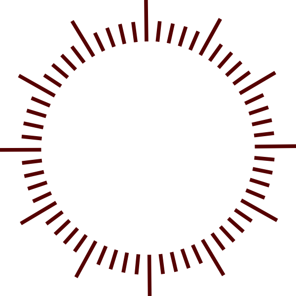 Clocks clipart borders. Geant graduation clock montre