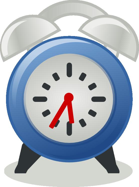 Clock clipart blue. Cute