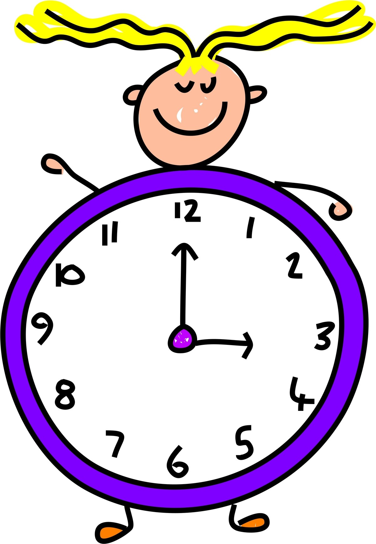 Patience clipart time. Free daily routine download