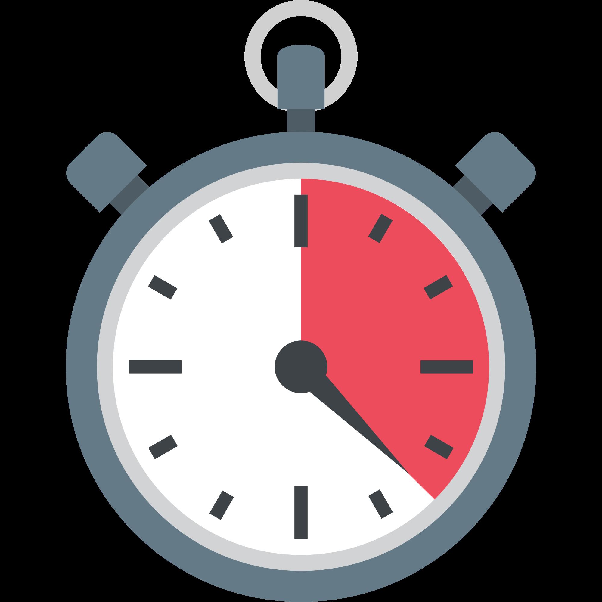 Stopwatch clipart emoji. File emojione f svg