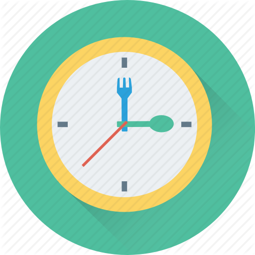 Clock cartoon product transparent. Clocks clipart food