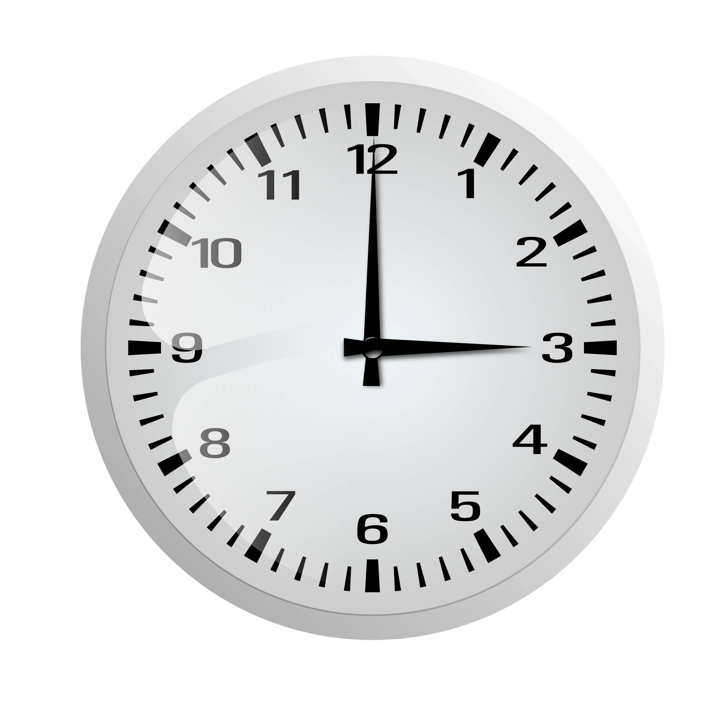 Clocks clipart frame. Clock without big image