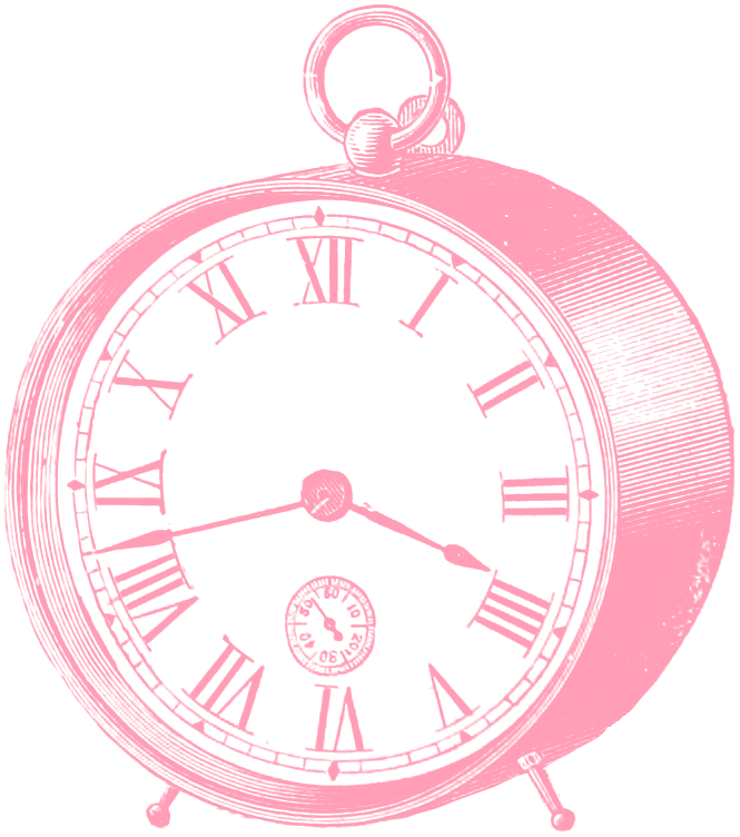 Free clip art images. Clocks clipart borders
