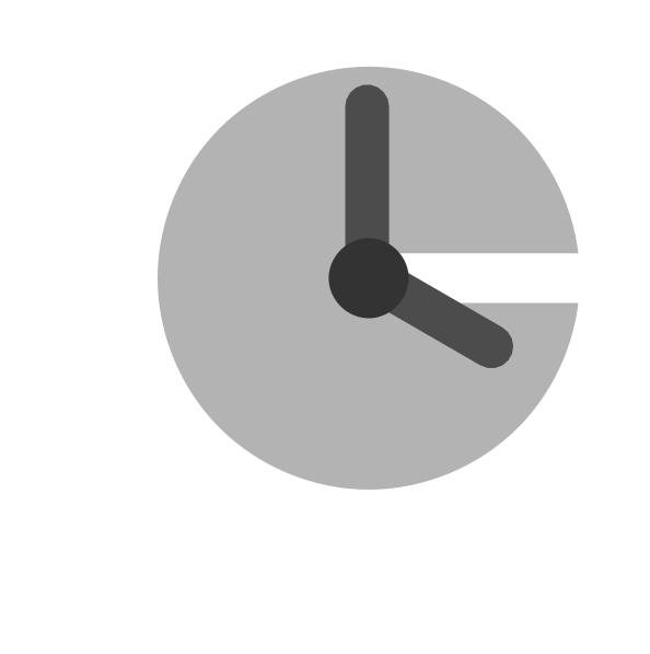 White clip art at. Gear clipart clock