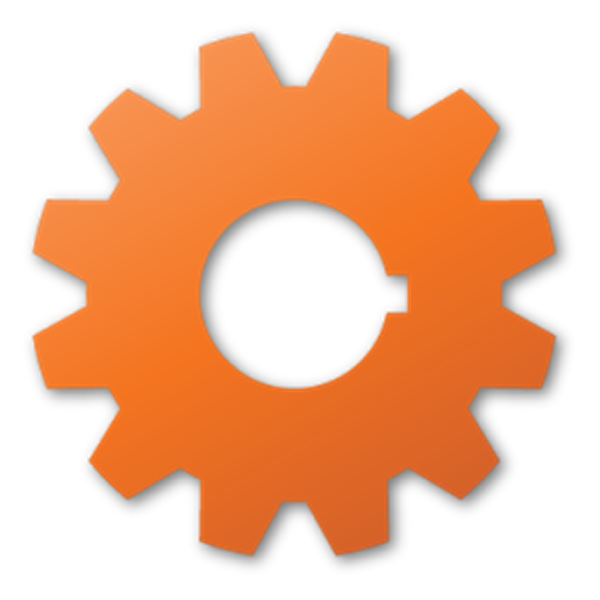Gear vector png. Red free images at