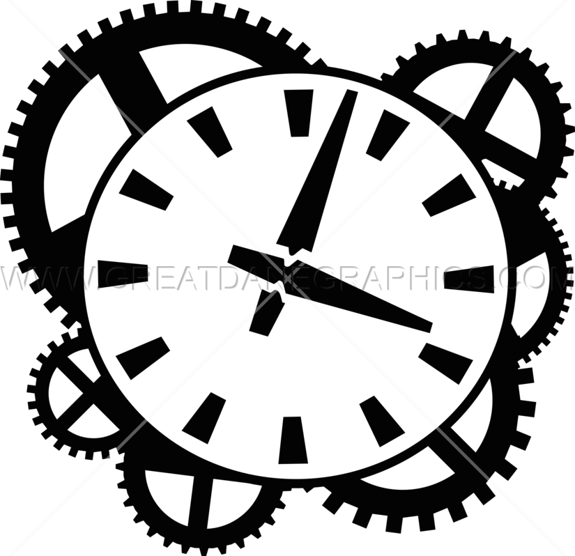 Clock works production ready. Energy clipart mechanism