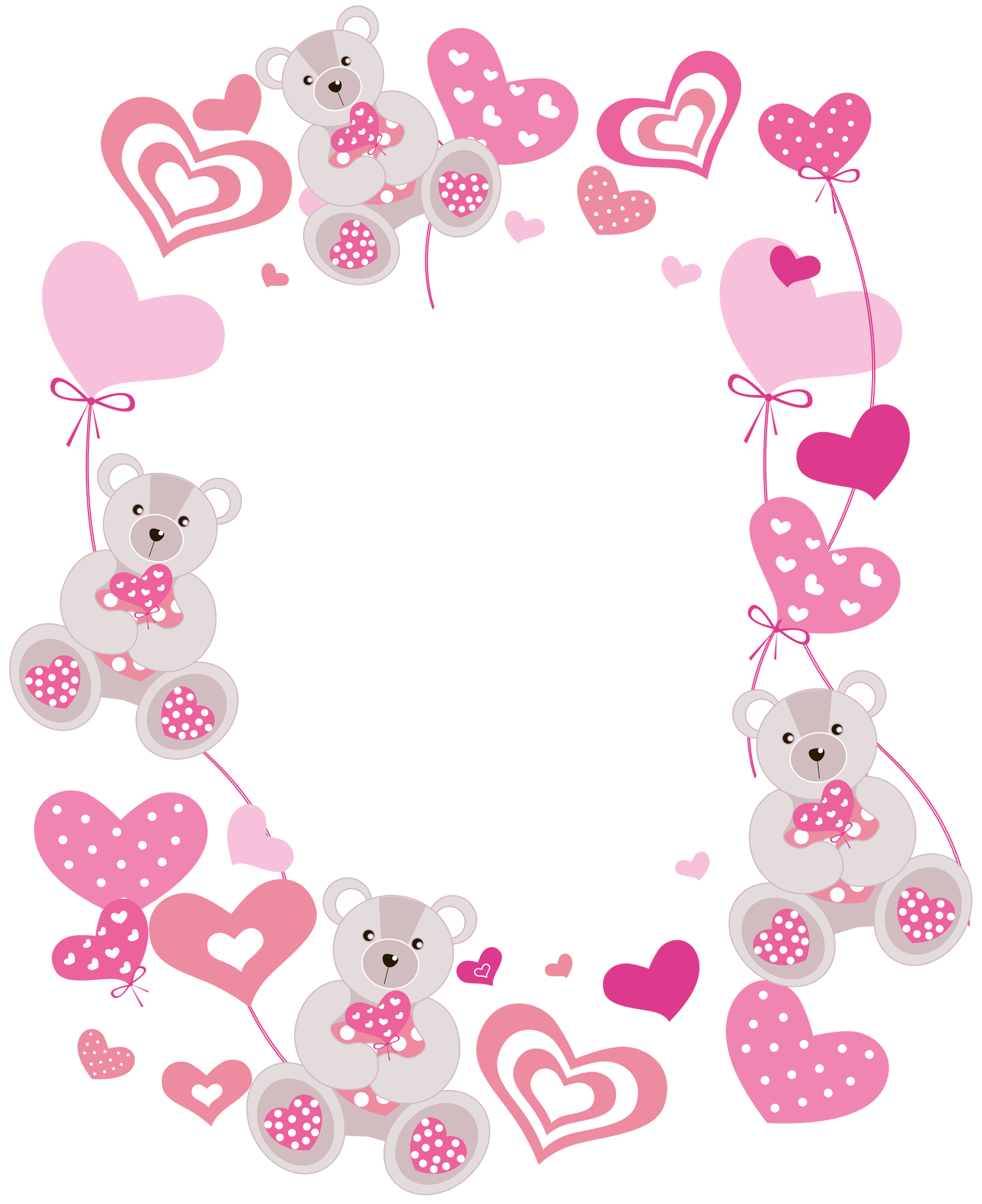 Frames clipart baby girl. Transparent hearts png photo