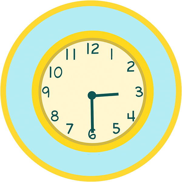 Pippop the ultimate learning. Clocks clipart half hour