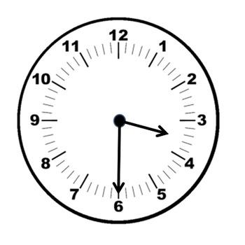 Clocks clipart half hour. Clock past the freebie
