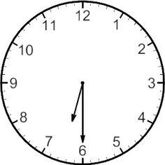 Blank clock face love. Clocks clipart half hour