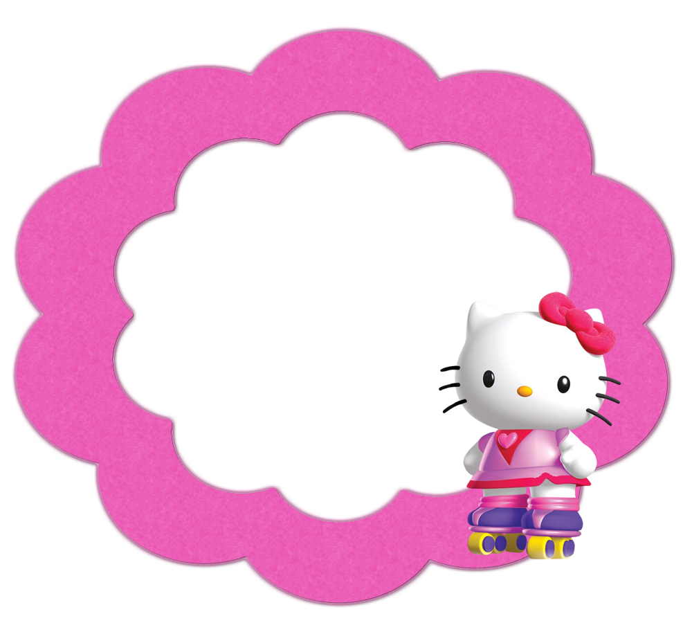 Clipart clock hello kitty. Buttons labels and toppers