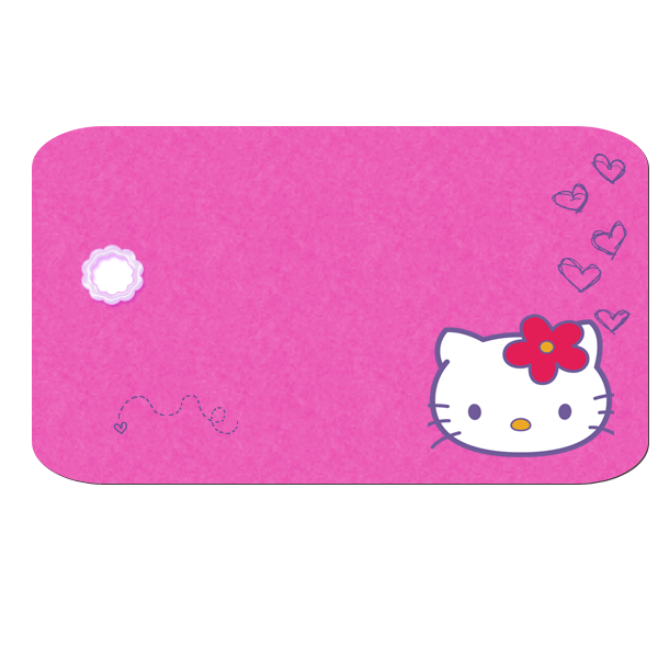 Clipart clock hello kitty. Borders images and backgrounds