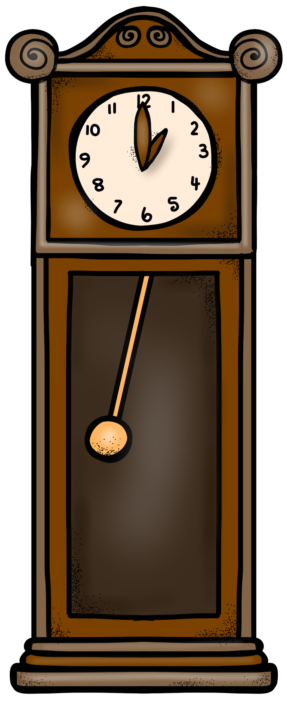 Clipart mouse hickory dickory dock. Printable the little puddins