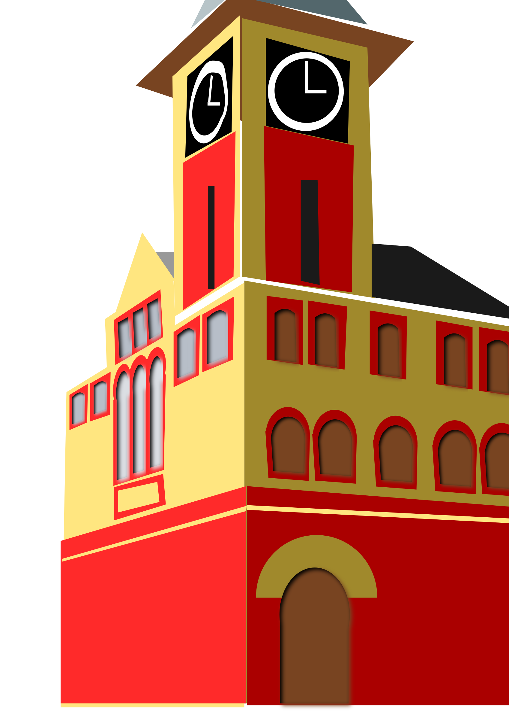 Home clipart hall. New bern town big