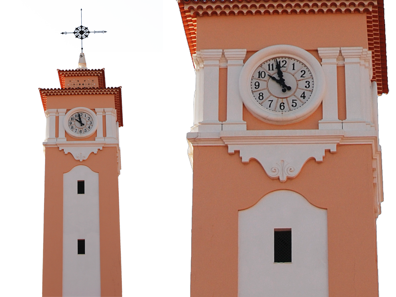 Clock png image isolated. Tower clipart cut out