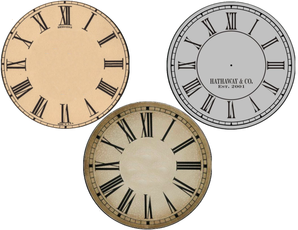 New years free face. Clock clipart judy