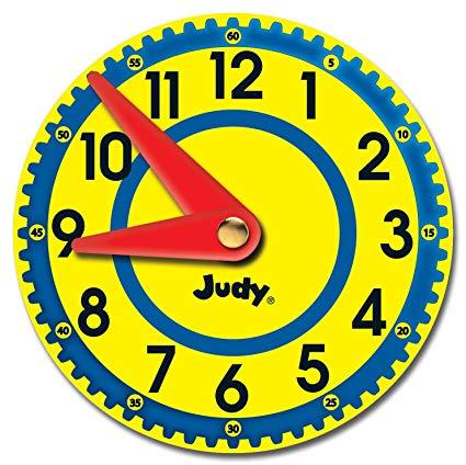 Clock clipart judy. Carson dellosa clocks cut