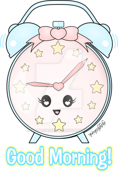 Clock clipart kawaii. Clocks images gallery for