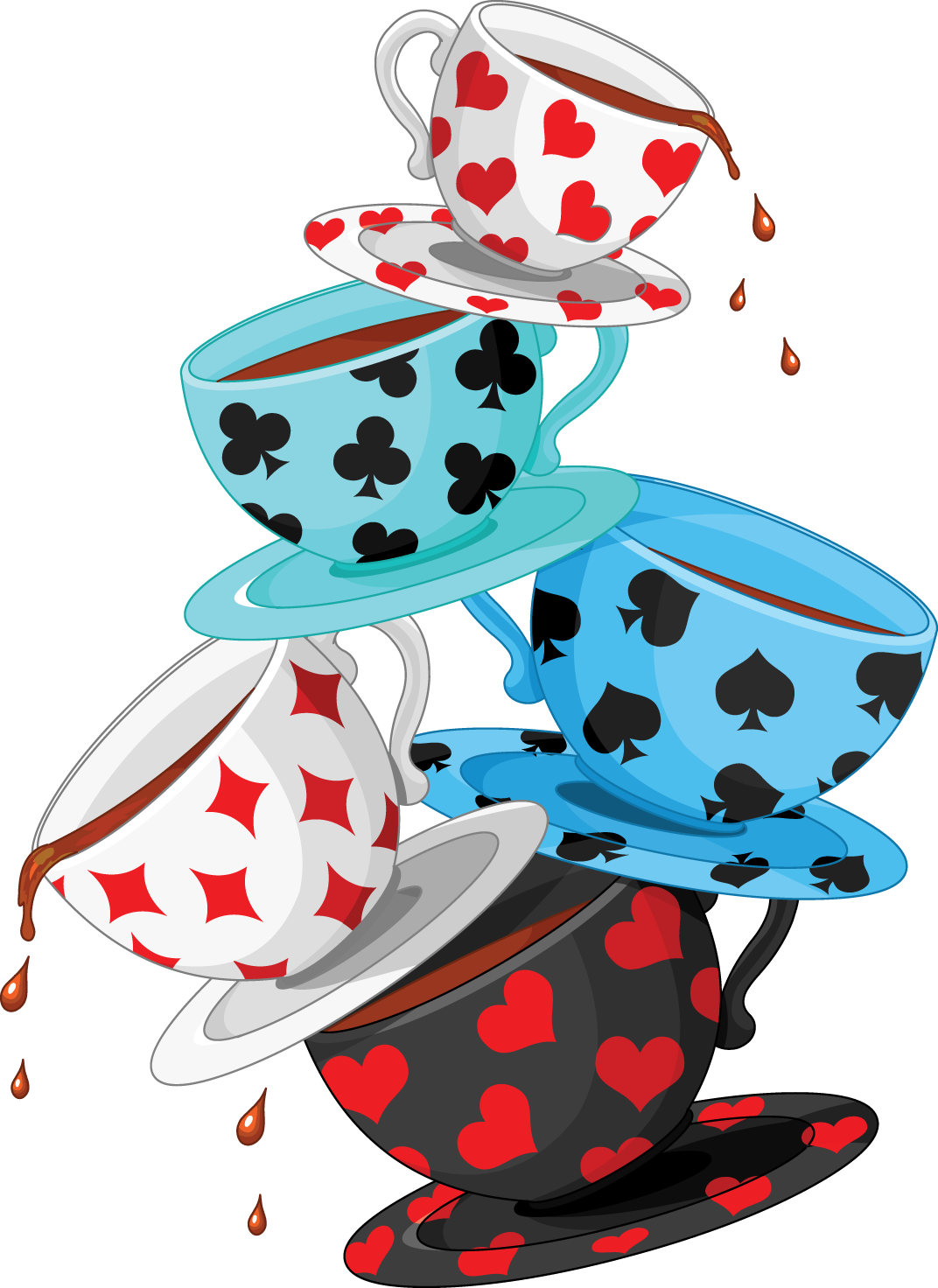 Cup Clipart Mad Hatter Tea Cup Mad Hatter Tea Transparent Free For Download On Webstockreview 2020