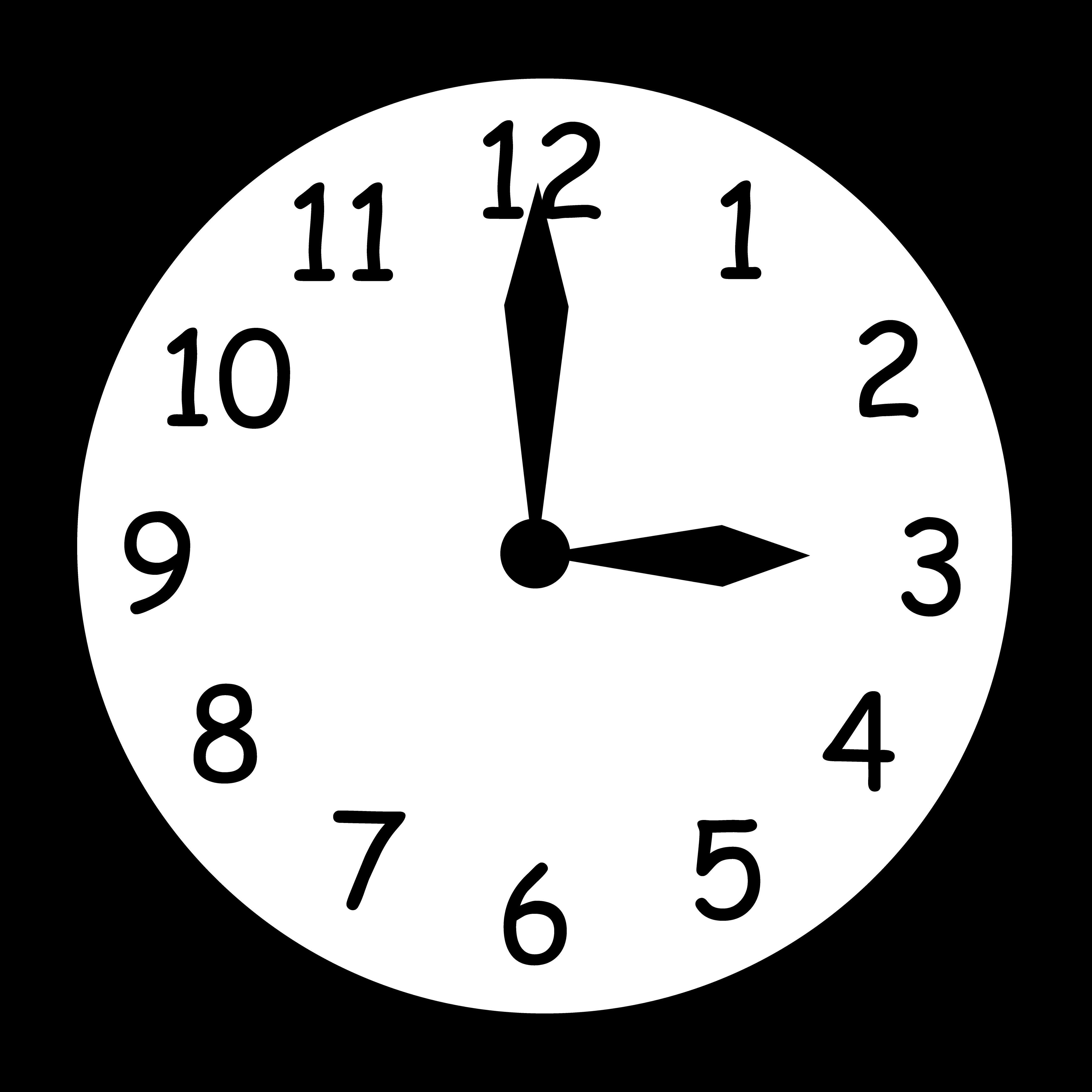 Season change . Clock clipart noon