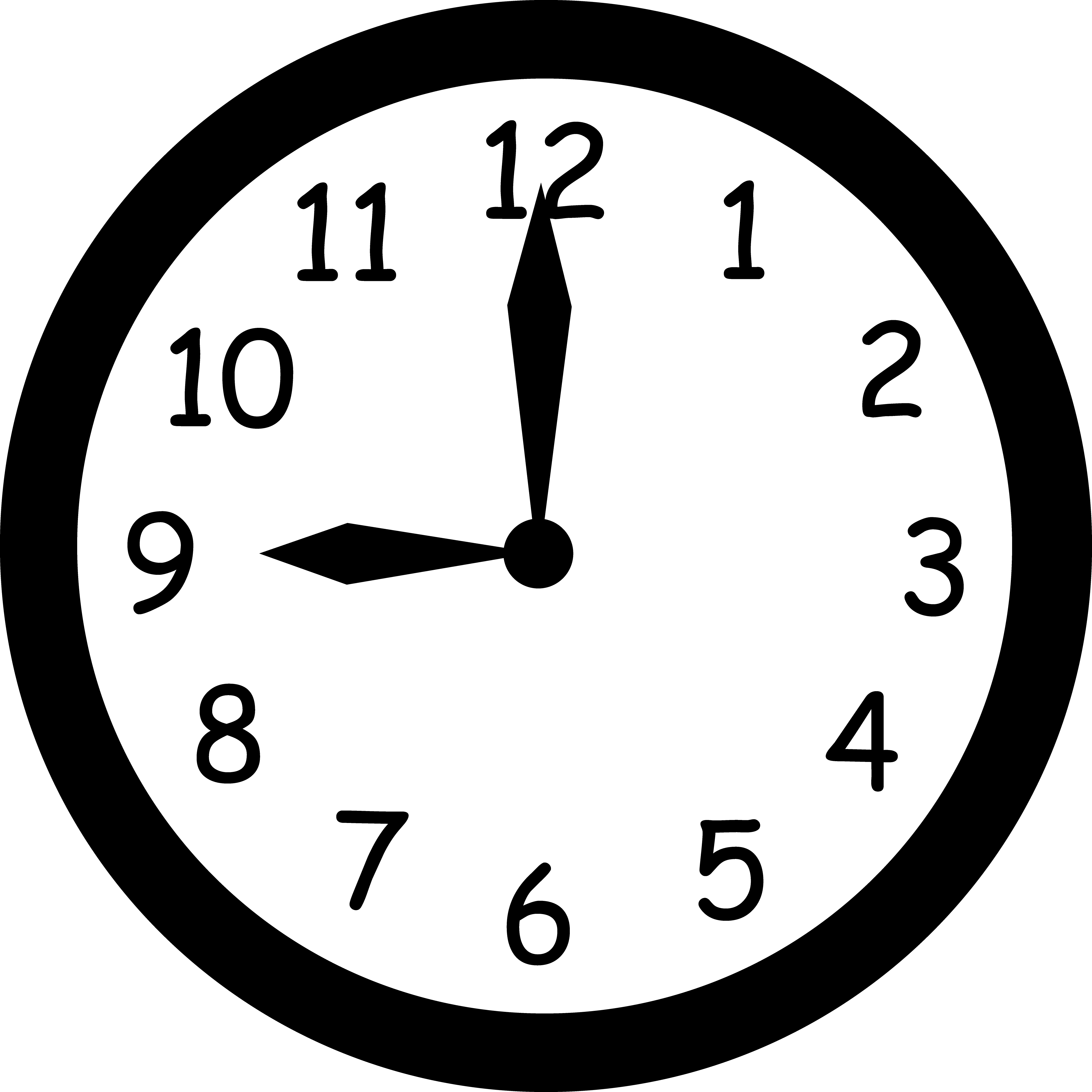Clock clipart noon.  collection of high