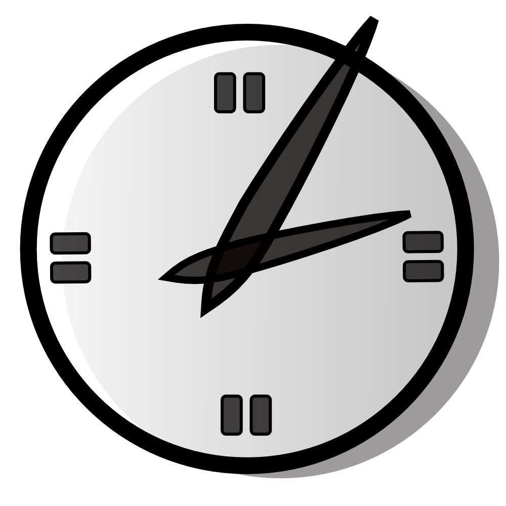 Clock clipart noon. Blank panda free images