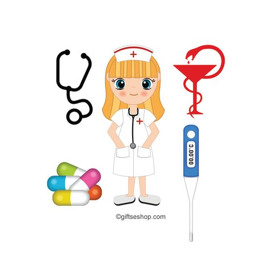 Organized clipart medical. Nurse images doctor