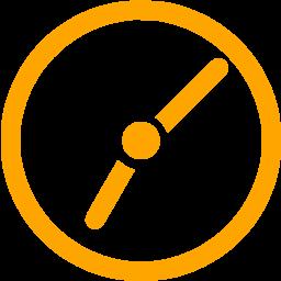 Free cliparts download clip. Clipart clock orange