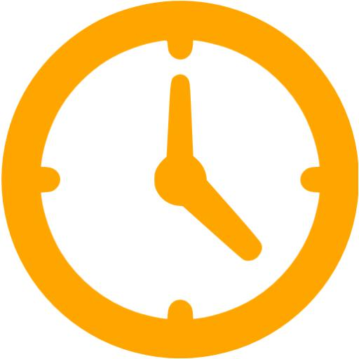 Free cliparts download clip. Clock clipart orange