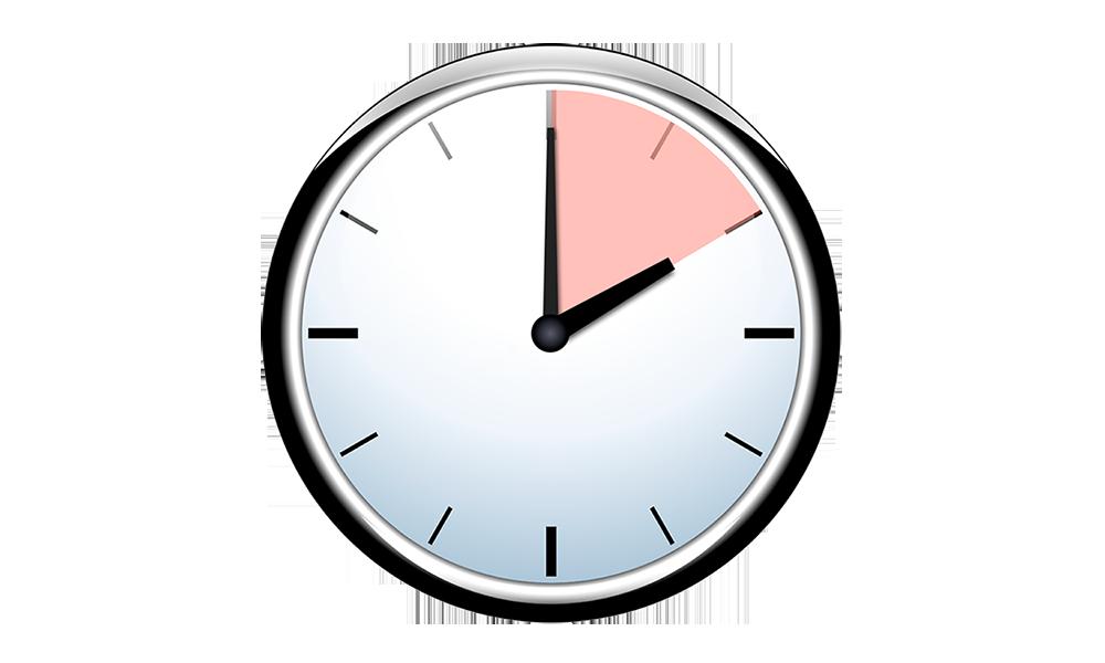 Clock clipart patience. Online course find light