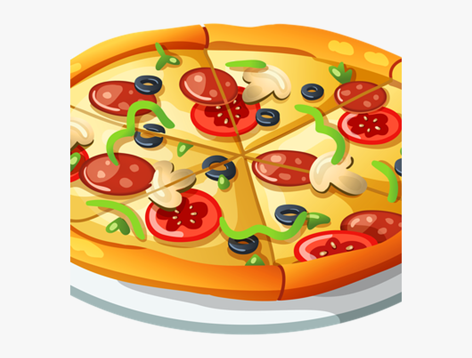 Chicken for transparent cartoon. Pizza clipart money